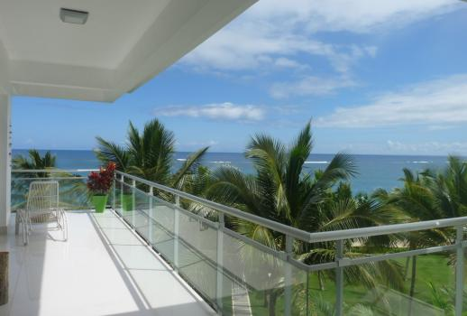Top penthouse on the white beach of Cabarete