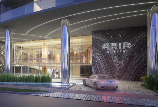 ARIA ON THE BAY – Luxurious apartments with fantastic sea view and Miami city views
