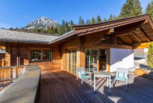Attractive and modern chalet with breathtaking views of the Wilder Kaiser Moutain