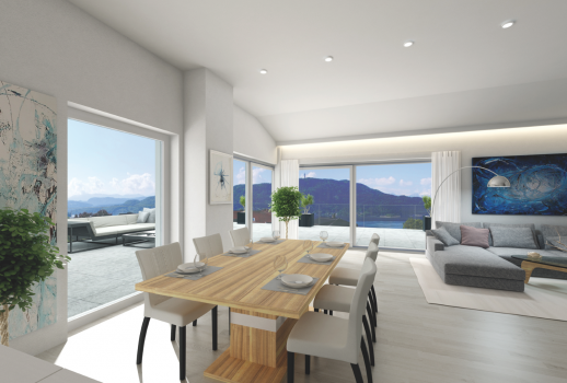 Fascinating Penthouse on the Wörthersee for sale