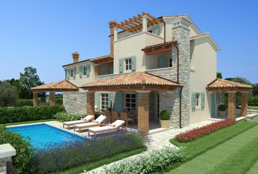 Lovely estate in Croatia on the picturesque peninsula of Istria for sale