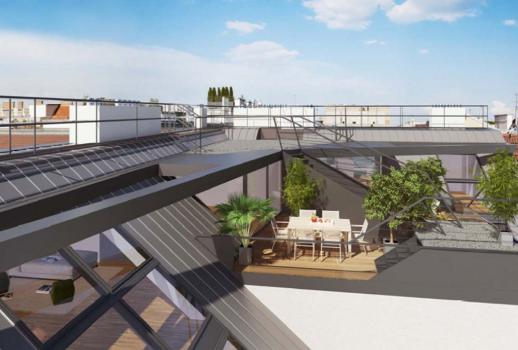 Unique penthouse above the roofs of Vienna