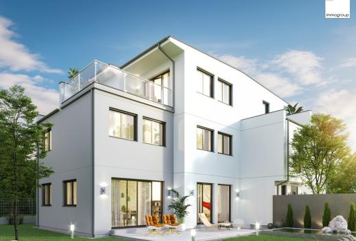 Semi-detached house at the Upper Old Danube - With 3D viewing demo - quot;Eigengrundquot;