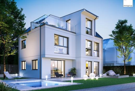 Exclusive family home near the upper Old Danube