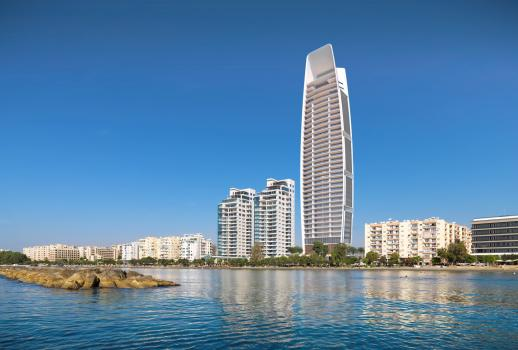 Wonderful apartments in Cyprus with fantastic views of the city of Limassol