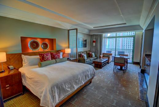 Excellent apartment in a sensational location in one of the most prestigious resorts on the Bahamas