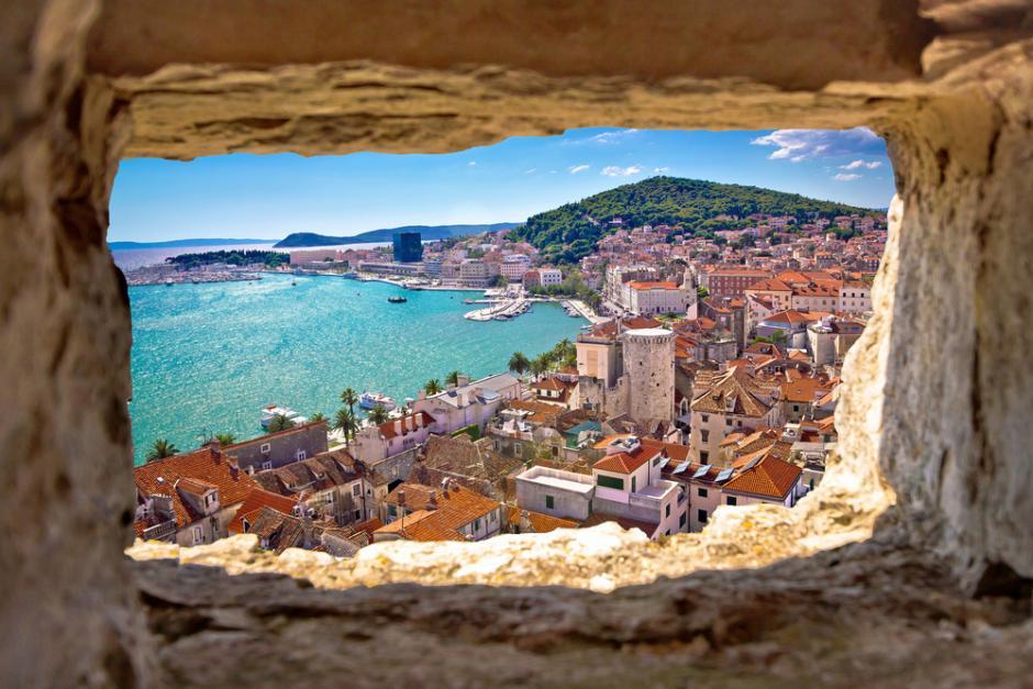 Traumhafte Aussicht (Kroatien).