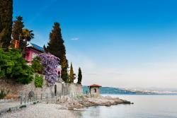 Haus am Meer in Kroatien.