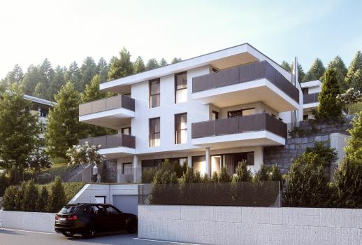 2 rooms with terrace and view over Innsbruck