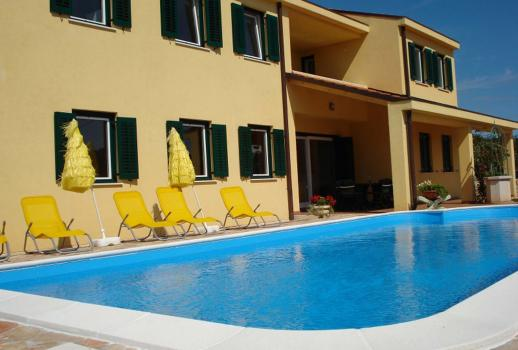 Exclusive apartment block near Rovinj