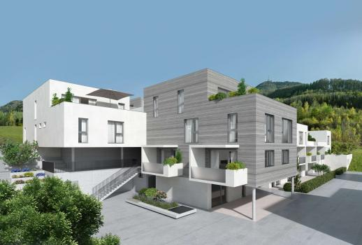 Exclusive condominium in the city of Salzburg, featuring an additional secondary residence