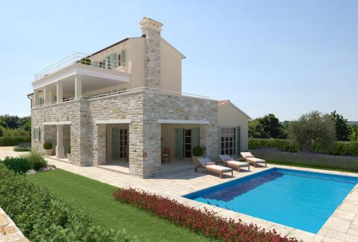 Exclusive stone house with sea view