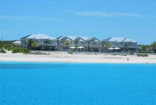 Exuma strand aan Jimmy Hill