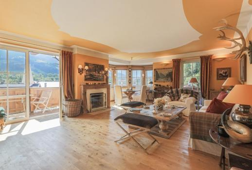 cozy apartment with a view of the Kitzbühel Alps