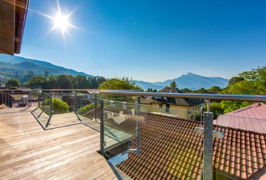 Mondsee: Exclusive penthouse apartment with lake view