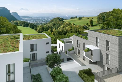 Newly constructed, modern apartment for sale in Salzburg, complete with secondary residence