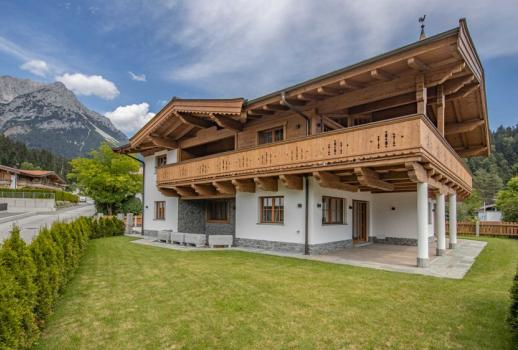 New chalet at the foot of the Wilder Kaiser