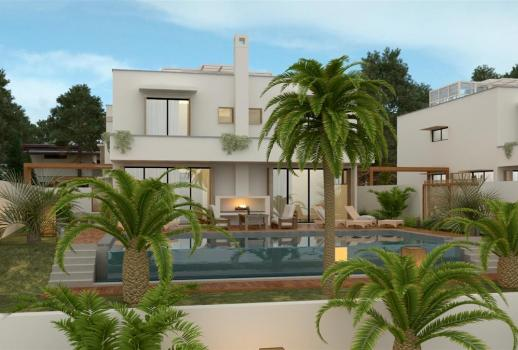 New villa by the sea