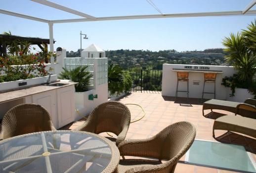 Property with a fantastic roof terrace