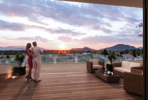 Luxury apartment with view in Salzburg for sale - New Construction