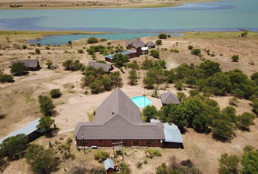 THULA GAME LODGE Wildlife Farm te koop in Zuid-Afrika! Locatie: Kroonstad - Freestate