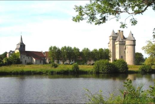 Medieval Castle in the limousin