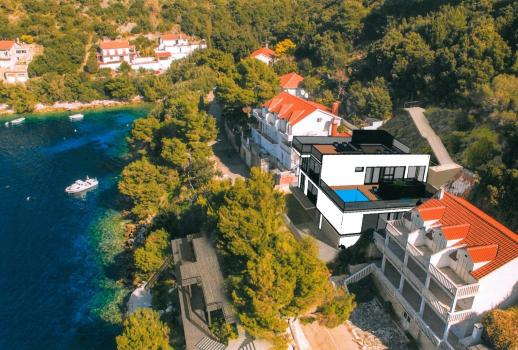 Already prepared construction project in an exclusive location in Croatia