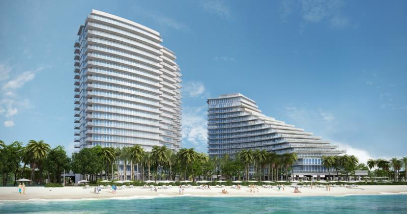 AUBERGE BEACH RESIDENCES SPA - The newest luxury true Oceanfront Condominium on Fort Lauderdale Beach