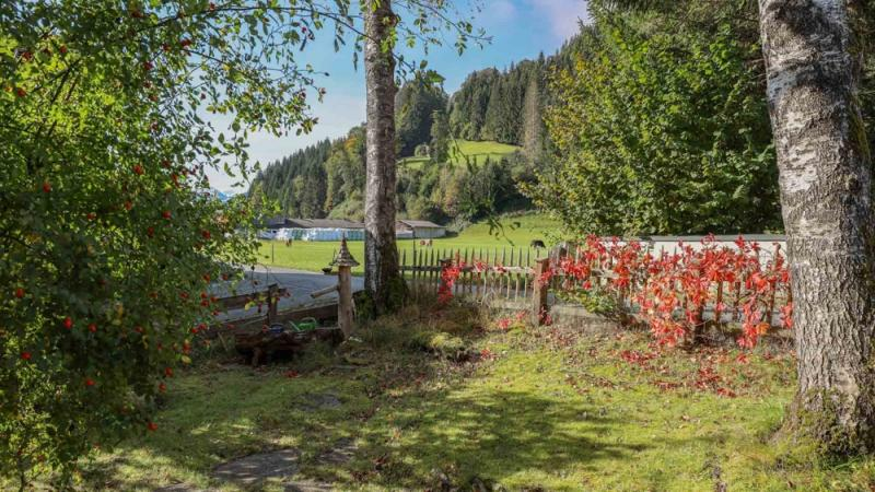 Building plot with old stock in an idyllic quiet location