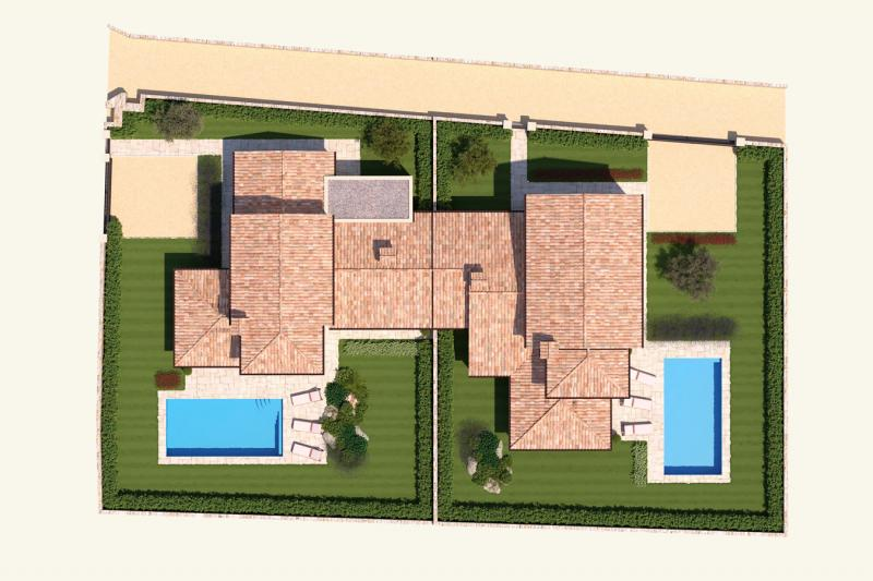 Your dream house on the Adriatic coast - construction project in Croatia - modern stone house in historical look! House 12