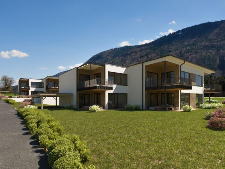 Special property in Mondsee – penthouse apartment with lake view
