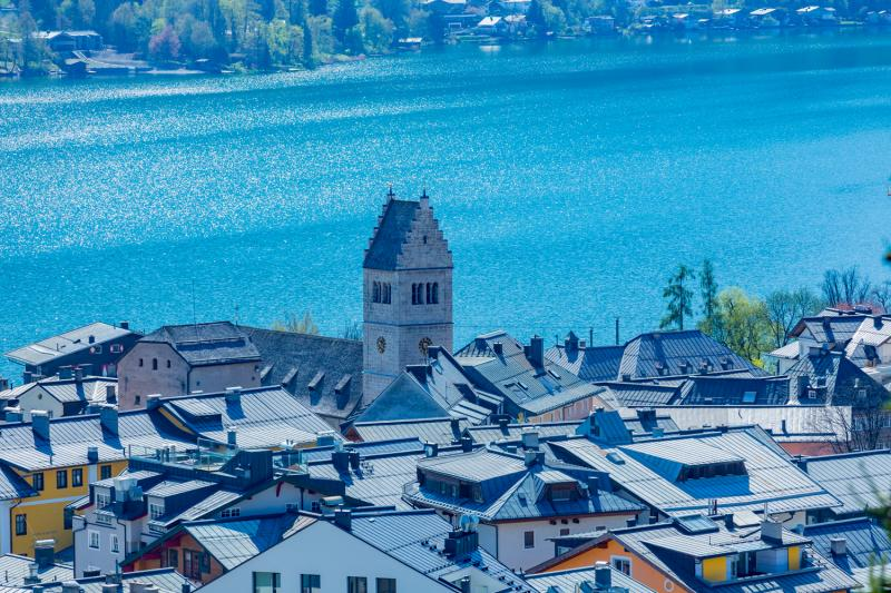 Spectacular villa with fantastic lake view in Zell am See