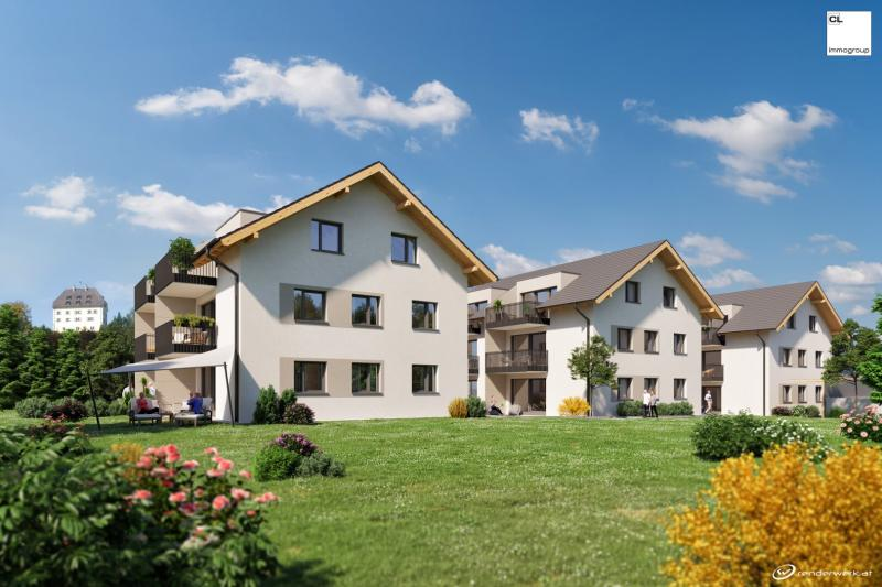 First occupancy: Exclusive top floor apartment for sale in Salzburg Glanegg - new building project