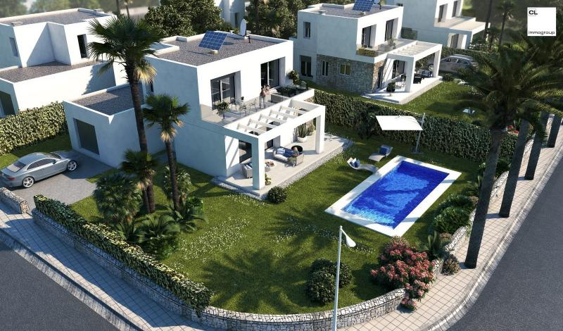 Exclusive villas in an absolutely quiet location