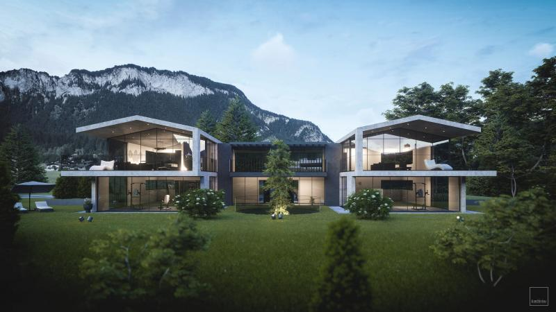 Grandiose garden apartment in St. Johann with a fantastic view and a gigantic garden