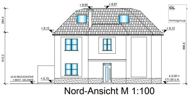 In the beautiful Wolfsthal: Fantastic detached house in a coupled construction - near the Danube