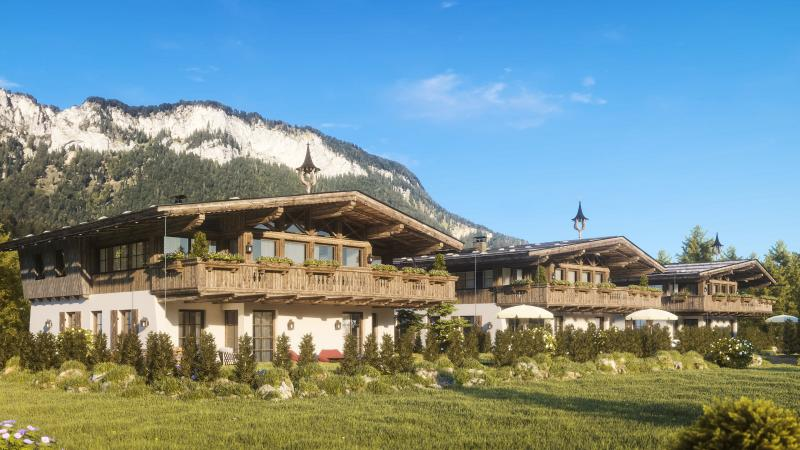 Luxurious penthouse at the foot of the Wilder Kaiser
