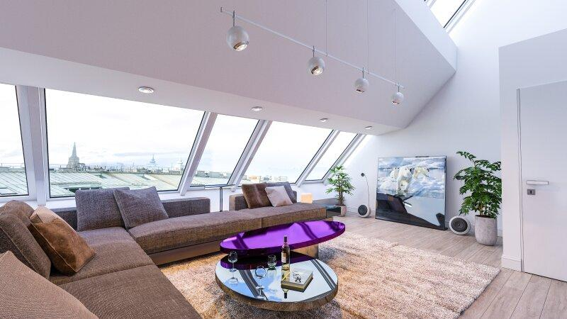 Penthouse with private pool and 360 ° distant view