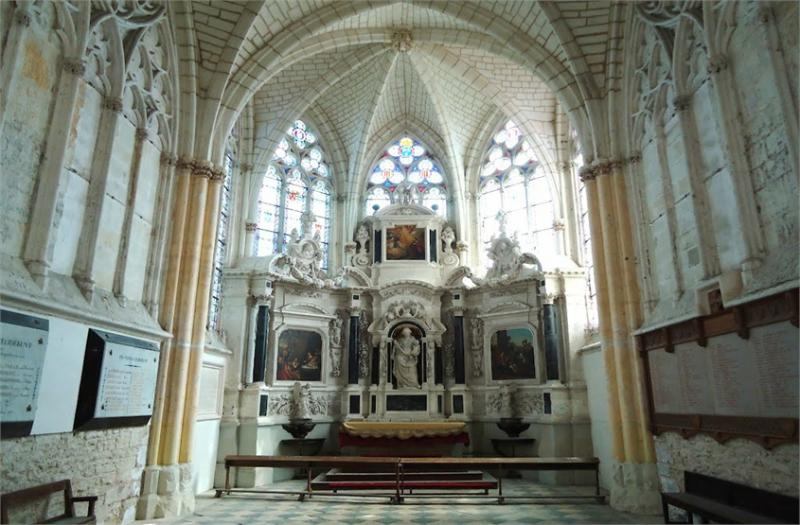 Abbey for sale in the Loire valley