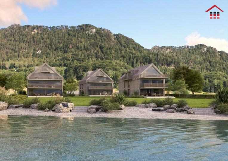 Life at the lake new building project right on the Attersee