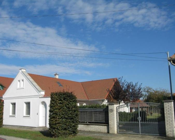 Typical regional holiday ensemble in Hungary consisting of 2 houses