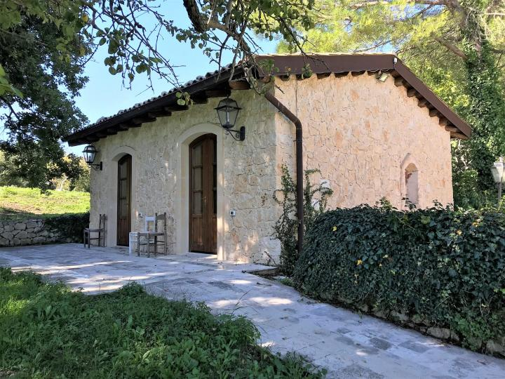Renovated stone farmhouse with swimming pool