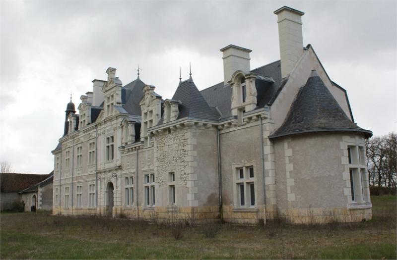 Beautiful castle for sale in Touraine