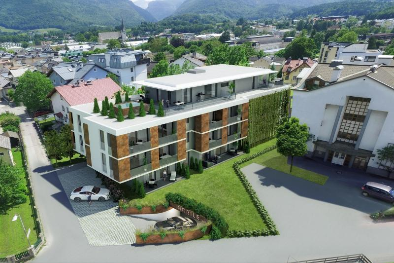 Newly constructed property: Gorgeous penthouse in a sunny and quiet location in Bad Ischl