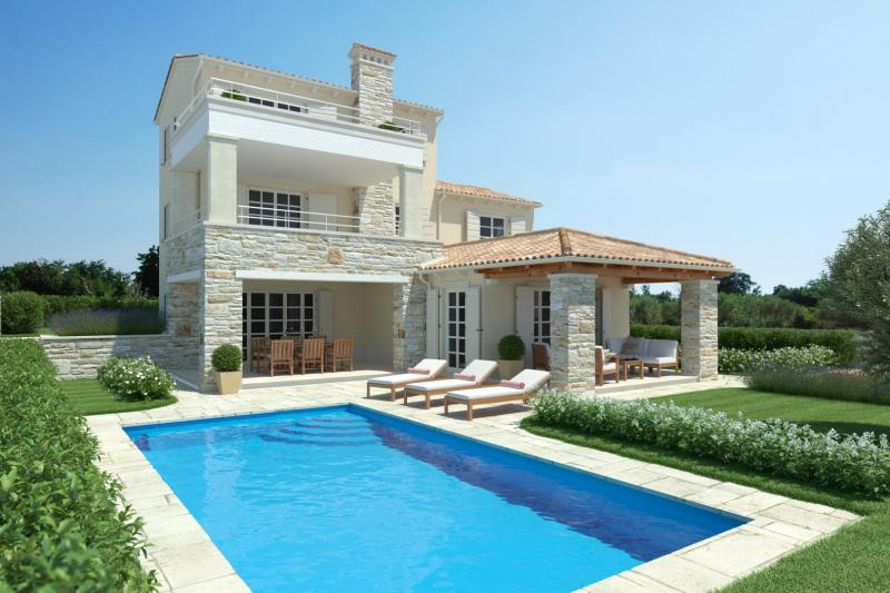 Beautiful and spacious villa on the Croatian island of Istria for sale