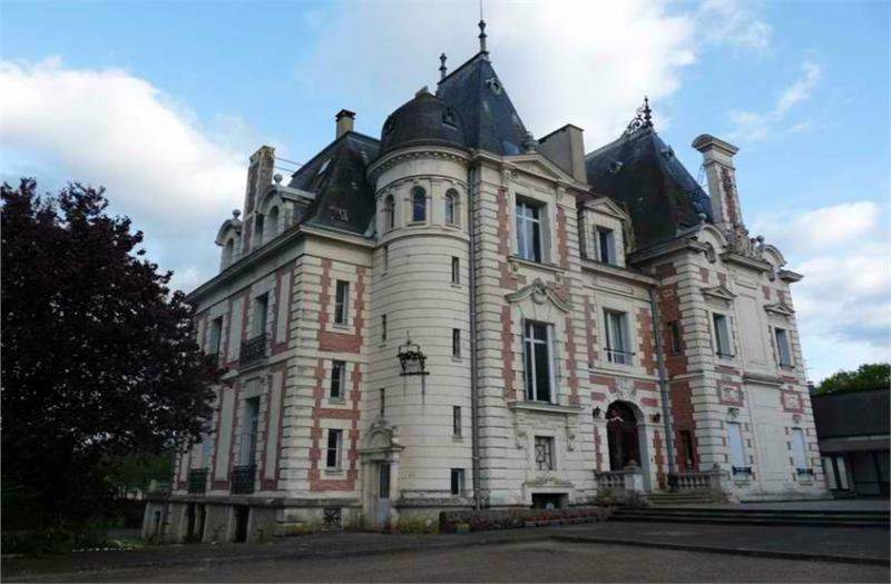 19th Century Castle Near Le Mans
