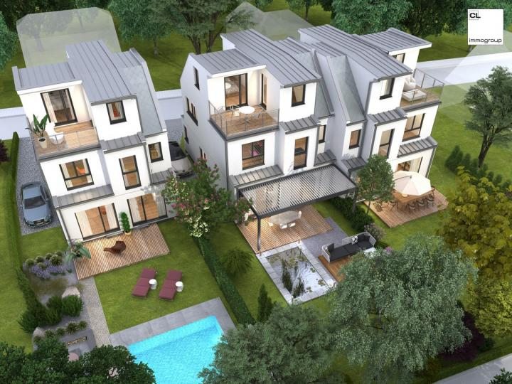 Between Schiller and Mühlwasser: Detached house on its own with garden - 3D viewing demo